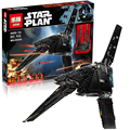 LEPIN 05049 STAR WARS Rogue One StarWars Emperor fighters starship Model Building Kit Blocks Bricks Toy Compatible 75156