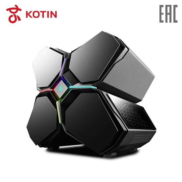 Игровой компьютер KOTIN GBX-1 / i9-7900X / 16G DDR4/ 256G SSD+2T / GTX1080Ti-11G /water cooling / Dos