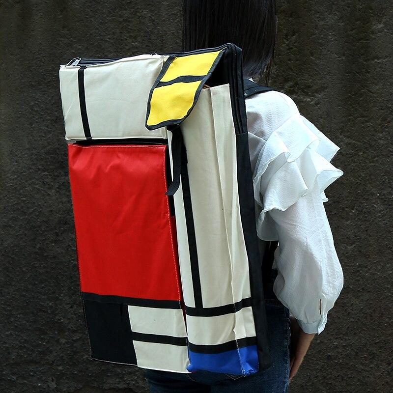 Bgln 4K Light Waterproof Portable Sketch Painting Board Large Capacity Travel Shoulder Sketchpad Drawing Bag