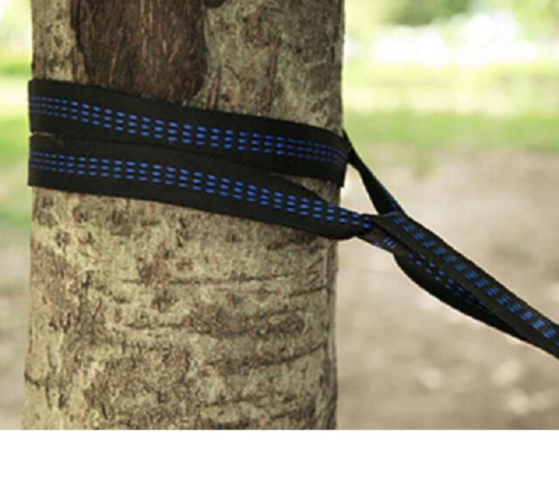 2pcs/set Hammock Strap 200cm Aerial Yoga Tree Hanging Rope Hammock Strap Belt Repair Camping Home Rest Spare Part Set