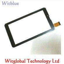 "Gratis Película + Nuevo Digitalizador de pantalla táctil Para 7 ""pulgadas Irbis TZ709 3G Tablet panel Táctil Reemplazo Del Sensor de Cristal Envío Gratis"