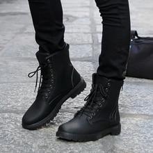 2017 осень мужские кожаные ботинки моды черный Мартин сапоги увеличение ботильоны плоские с обуви бренда Лос zapatos желтый коричневый