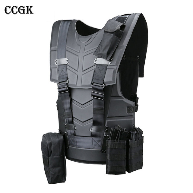 CCGK Tactical Vest Multi functional Tactical Body Armor ...