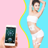 Smart EMS Muscle Stimulation Body Slimming Beauty Machine Abdominal Muscle Exerciser Training Device Body Massager With APP 30