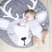 90 Animal Climbing Carpet Baby Play Mats Newborn Infant Soft Sleeping Mat Cotton Rabbit Lion Raccoon Swan Pegasus Koala Cat Bear