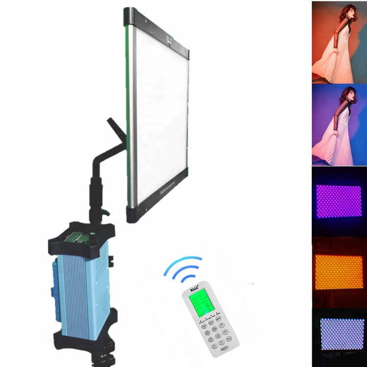 Yidoblo APP Control Folding LED Light Panels Video Light RGB & BIO Color Slim Professional Photography Studio Folable LED Lamp