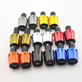"Cnc 22mm guiador bar end plugs motocicleta de alumínio 7/8 ""handle bar slider para honda suzuki yamaha"