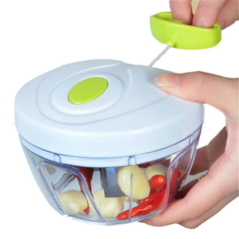 1 Pc Multifunctional Hand Chopper Kitchen Tools Onion Vegetable Hand Speedy Fruits Chopped Shredders Slicers Accessories Tool