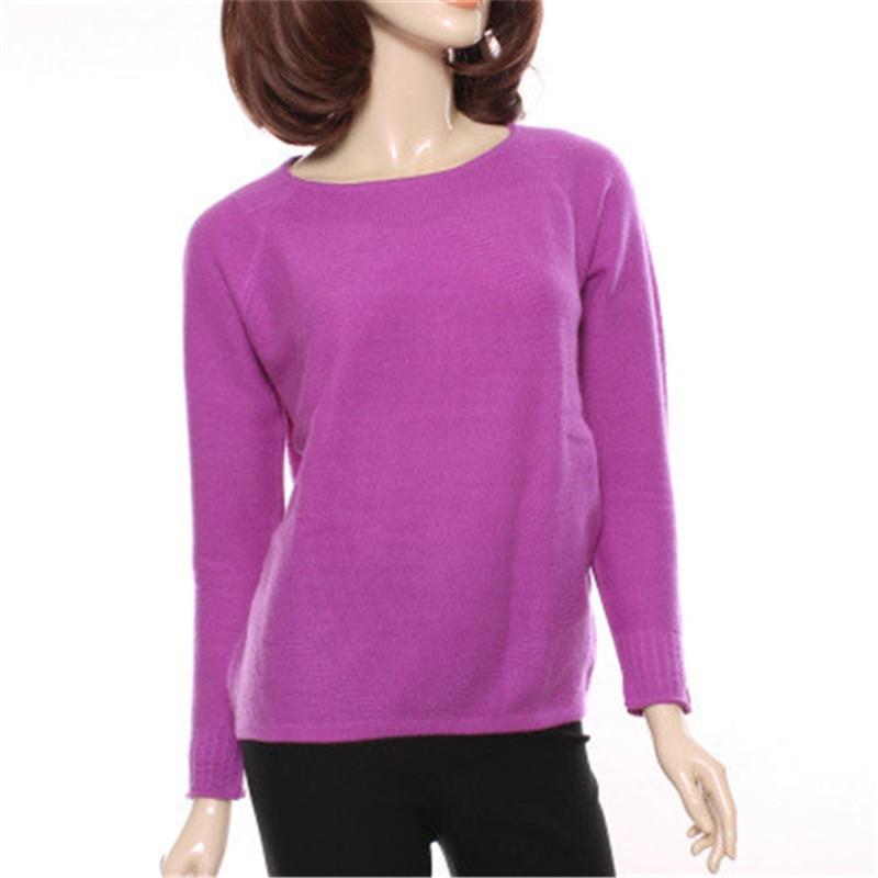 Solide Cachemire S Tricot 2xl Automne cou Couleur De Pull Chandail Black 2 Noir Printemps O Chèvre Femmes Nouvelle purple 100 Mode Rose Tw8nUqg0