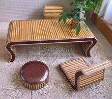 Very Lux Decoration Bamboo Couch With Chair