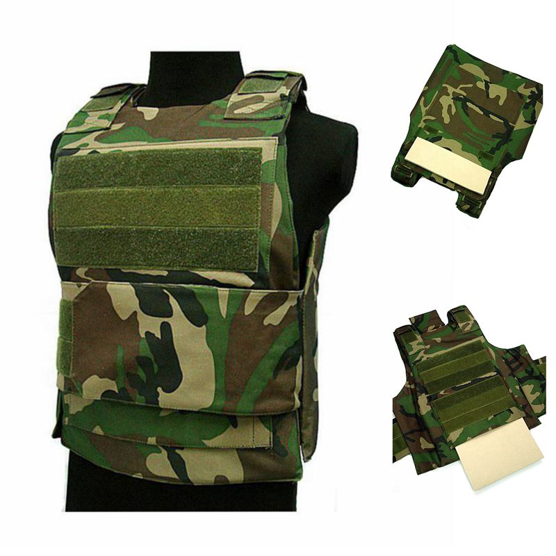 Security Anti Stab Tactical Vest Plate Military Molle Carrier Outdoor Airsoft Hunting Vests Adjustable Shoulder Straps Army vest