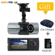 Car Camera 2.7″ Dual Lens Dash Vehicle Camera Car DVR GPS Camera Video Recorder 140 Degree R300 With Car-Charger car accessories