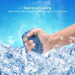 Image 3 - 2019 nowy gorący Sport lukier zimny ręcznik quicky dry natychmiastowy chłodny chłodzenie ręcznik siłownia ćwiczenia ręcznik ławka dla mężczyzn kobiety