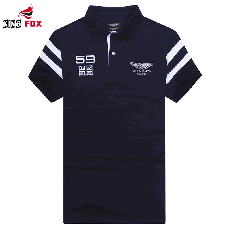 Embroidered brand Air Force Men`s breathable Polo Shirt Cotton Tops Casual Shirts Camisa Polo Masculina Homme navy polo shirts