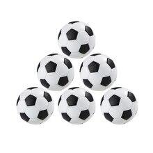 Черный и белый 4 шт. настольный футбол практичная Крытая настольная игра футбольный стол развлечения футбол, инструмент для игры в игрушки для детей