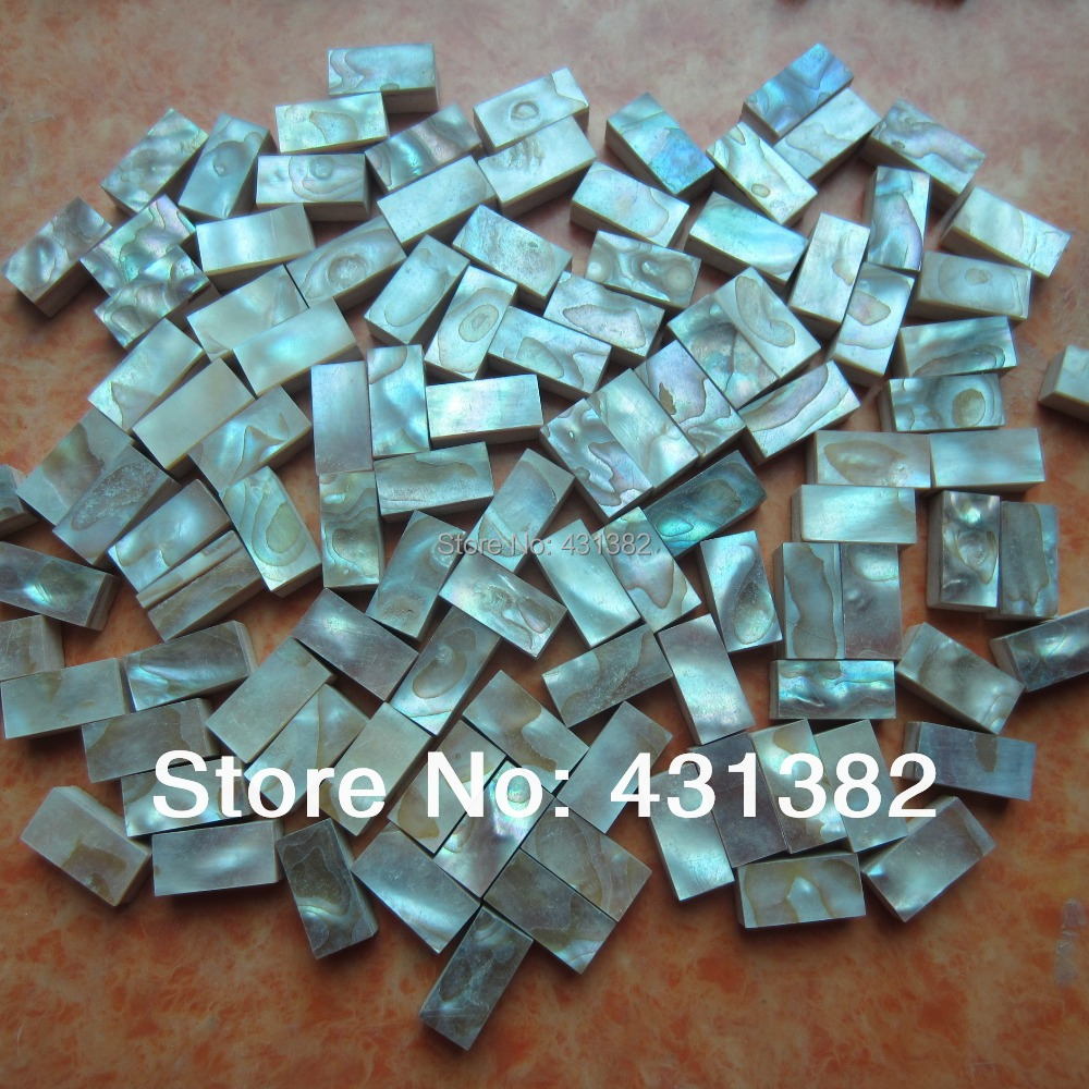 Us 225 0 Hyrx Mother Of Pearl Tile Kitchen Backsplash Decorative Strips 10 20 8 Mosaique Nacre Mosaic Tiles In Wallpapers From