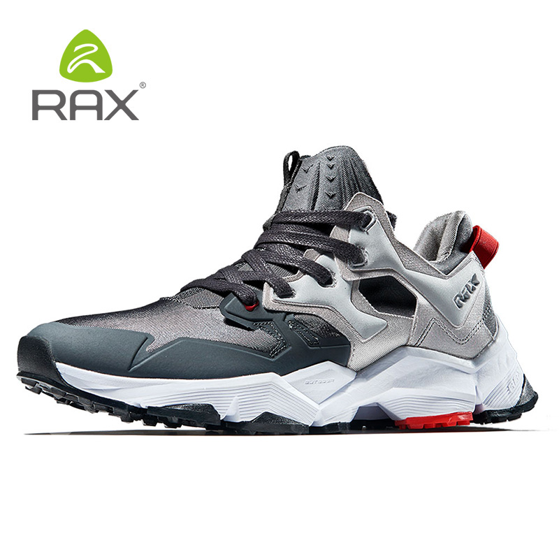 Rax Men's 2018 Winter Latest Running Shoes Breathable Outdoor Sneakers For Men Lightweight Gym Running Shoes Tourism Jogging 423