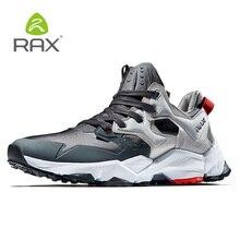 Rax Для мужчин 2018 зима последние кроссовки дышащие кроссовки уличные для Для мужчин легкие спортивные кроссовки Туризм Бег 423
