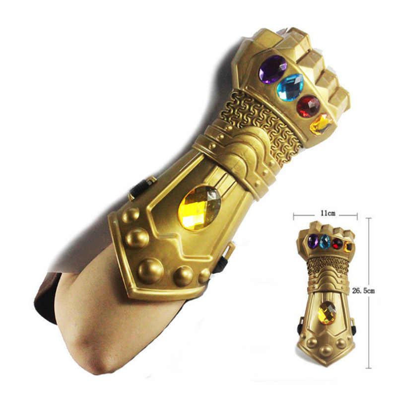 Мстители 4 танос Бесконечность войны перчатки Маска Косплей GauntletInfinity супергерой Мстители латексные перчатки Хэллоуин вечерние реквизит фигурка