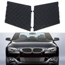 2pcs Front Grilles Plastic L/R Bumper Cover Lower Mesh Grille Grill Trim Stable Performance Durable Fit For BMW E60 E61 M Sport encoder e6cp ag5c stable 256p r absolute performance