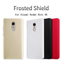 Phone Bag Case For Xiaomi Redmi Note 4x Nillkin Frosted Shield Phone Cases Back Cover PC
