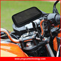 Fully Adjustable Scooter Motorcycle Motorbike Handle Mount Phone Holder Case Stand for Mega2 6.3 inch Smart Phones Mobile Device