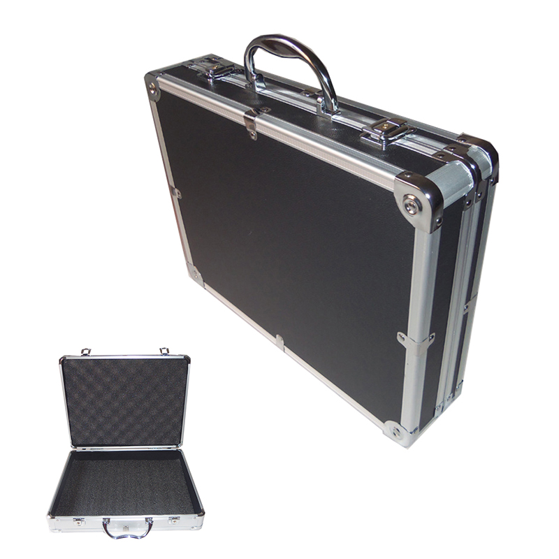 Portable Toolbox Aluminum Alloy Tool Box Instrument Box Storage Case Multi-function Impact Resistant Safety Shockproof Box