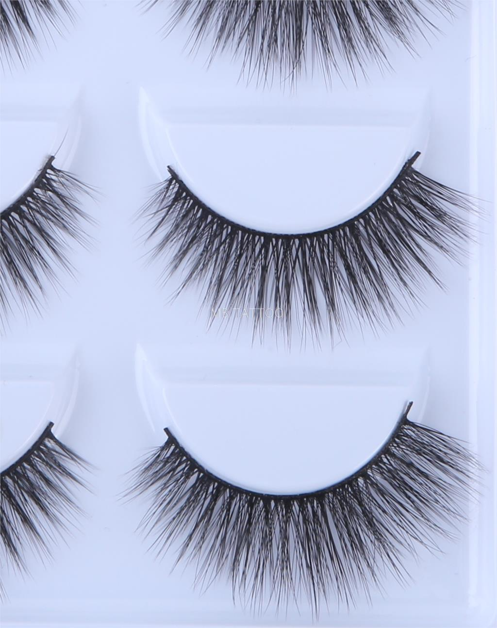 HTB1KgUQQ7voK1RjSZPfq6xPKFXaC New 3D 5 Pairs Mink Eyelashes extension make up natural Long false eyelashes fake eye Lashes mink Makeup wholesale Lashes