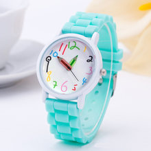 Новые детские наручные часы умные цифровые модные кварцевые