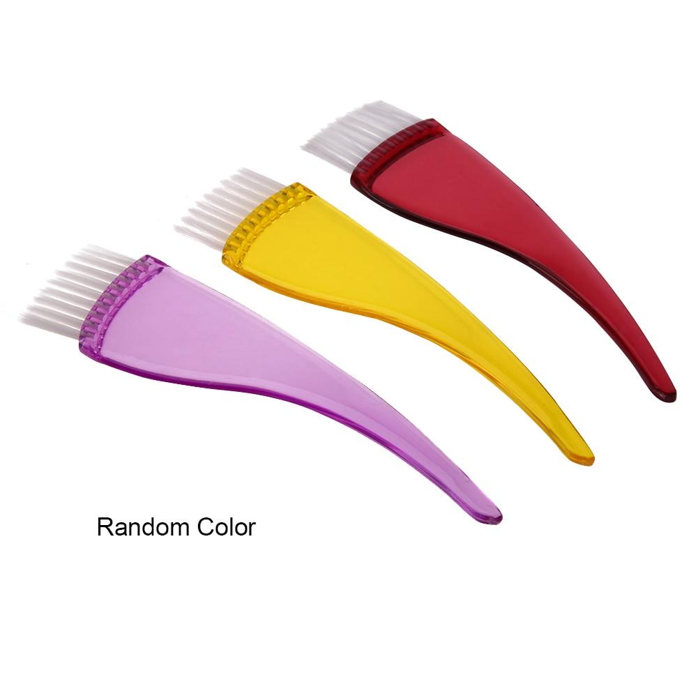 Mewarnai Pencelupan Sikat Rambut profesional untuk Salon Rambut Sisir Alat Pewarna Rambut