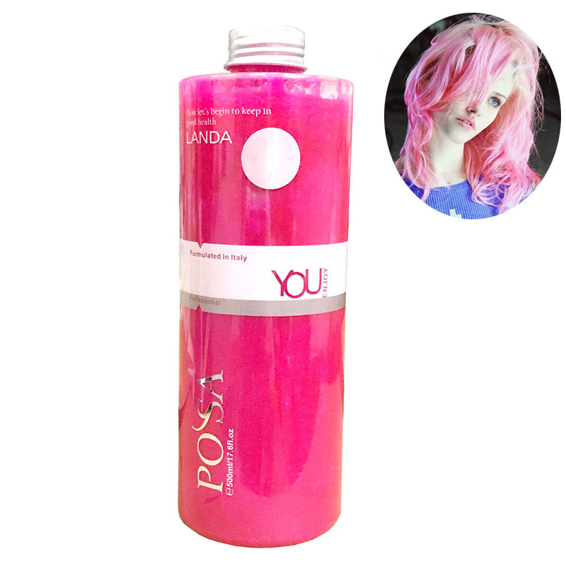 Manic Panic Semi-Permanent Hair Color Cream, Cherry blossoms Pink Hair Care Light Pink Sharon Hair Dyeing 17.59 fl oz/500ml