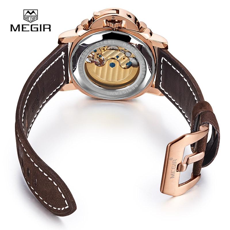 Δωρεάν αποστολή Megir 3206 Φωτεινή - Ανδρικά ρολόγια - Φωτογραφία 6