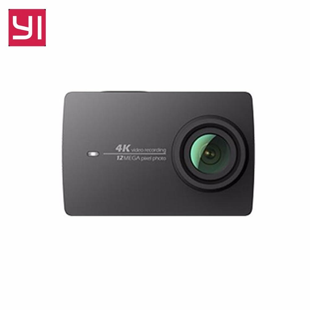 Xiaomi Yi 4k Action Camera Sport Mini Cam Outdoor Kamera Screen Wifi Bluetooth Wide Angle Lens Touch Screen Camaras TF Slo - 2