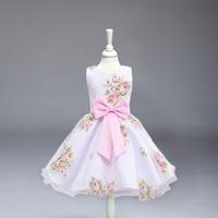 High Quality Flower Girl Dresses Children Kids Wedding Party Baptism Princess Dress For Baby Girls Wedding