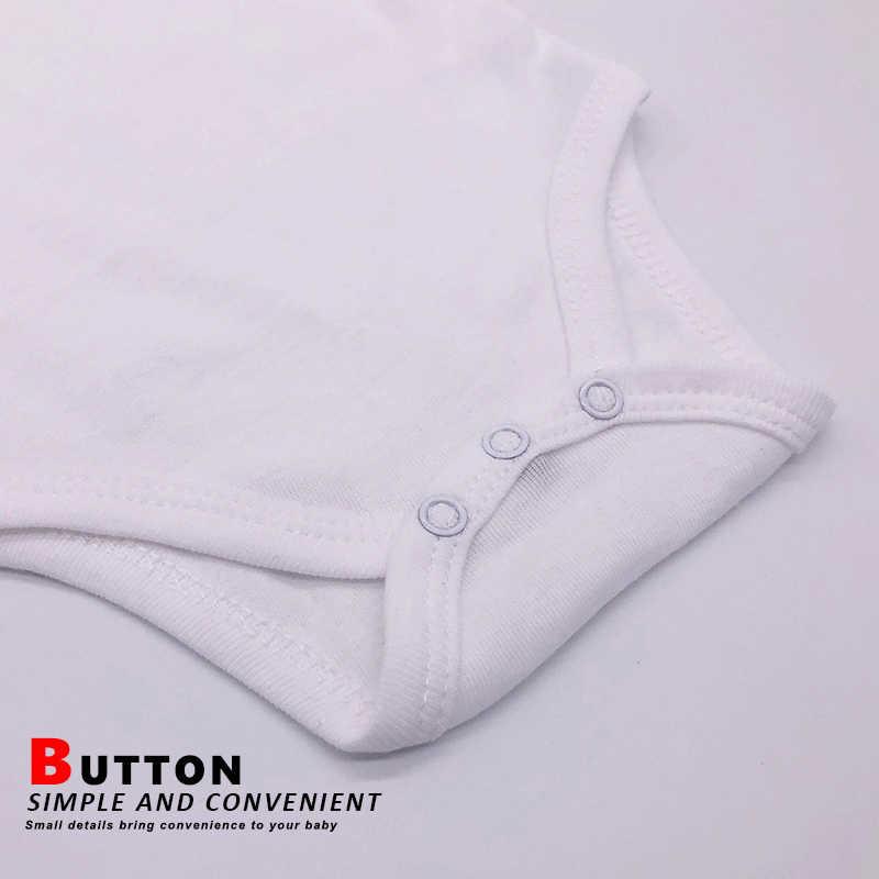 Blanco y Negro bebé recién nacido ropa de bebé 100% algodón de manga larga bebé niños niñas cuello de color sólido Unisex niños ropa