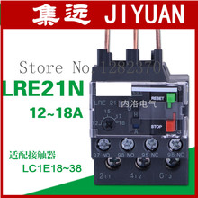 цена на [ZOB] Authentic LRE21N original thermal relay thermal overload relay 12-18A LR-E21N  --10pcs/lot