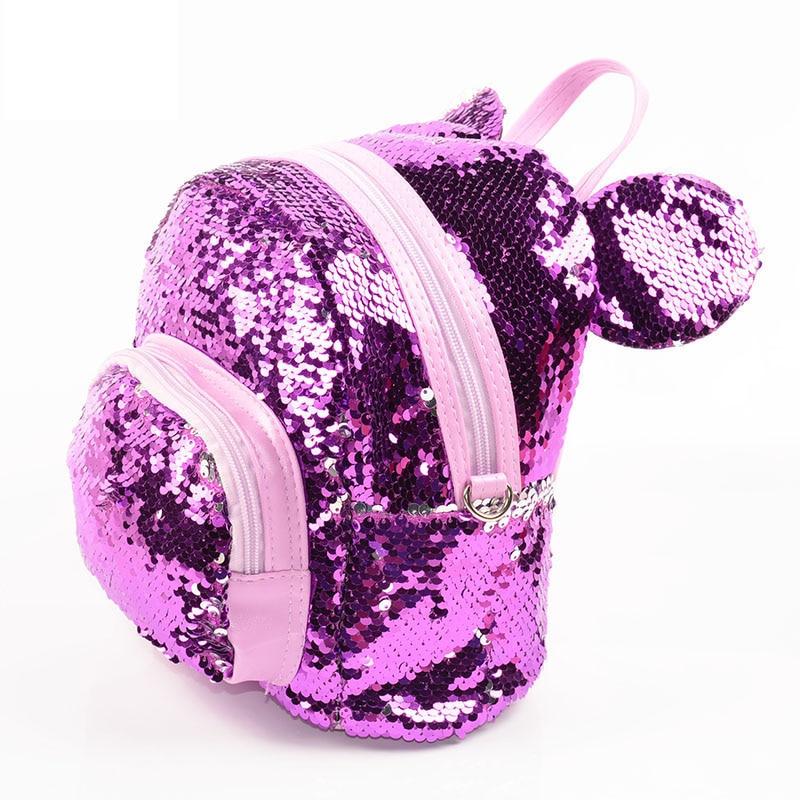 Sequins-Backpacks-Teenager-Girls-PU-mochila-Bling-Backpack-mochila-glitter-Girls-Travel-Shoulder-Bags-School-Bag