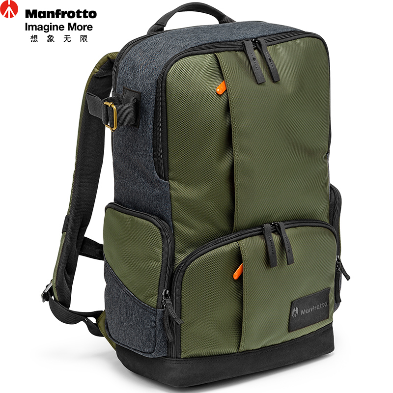 New Pattern Manfrotto MB MS-BP-IGR Camera Bag Backpack Video Photo Bags for Camera Backpack