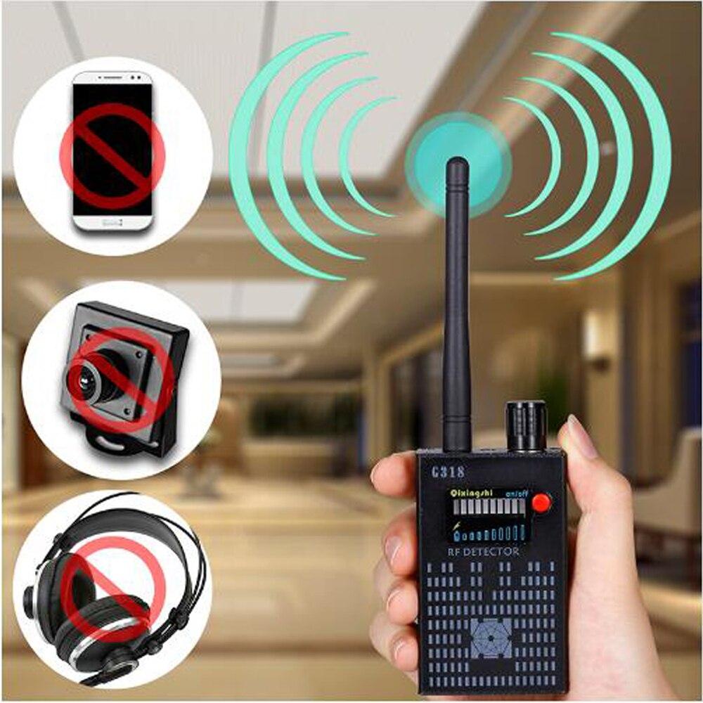 1 PCS Anti Sans Fil Caméra Détecteur Gps Rf Mobile Téléphone Signal détecteur Dispositif Tracer Finder 2G 3G 4G Bug Finder Radio Détection