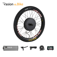 48V 1500W Cassette Motor Wheel 8 Speed 9 Speed Electric Bike Conversion Kit Electric Bicycle Kit E Bike Rear Hub Motor Kit