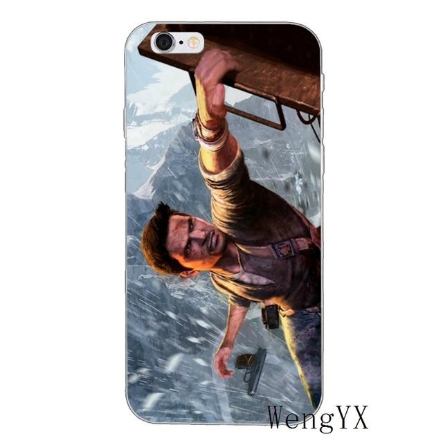 Uncharted 4 ladrón Nathan Drake suave tpu caso de teléfono para Samsung Galaxy A10 A30 A40 A50 A60 A70 A6s A8 más A9s estrella J8 2018