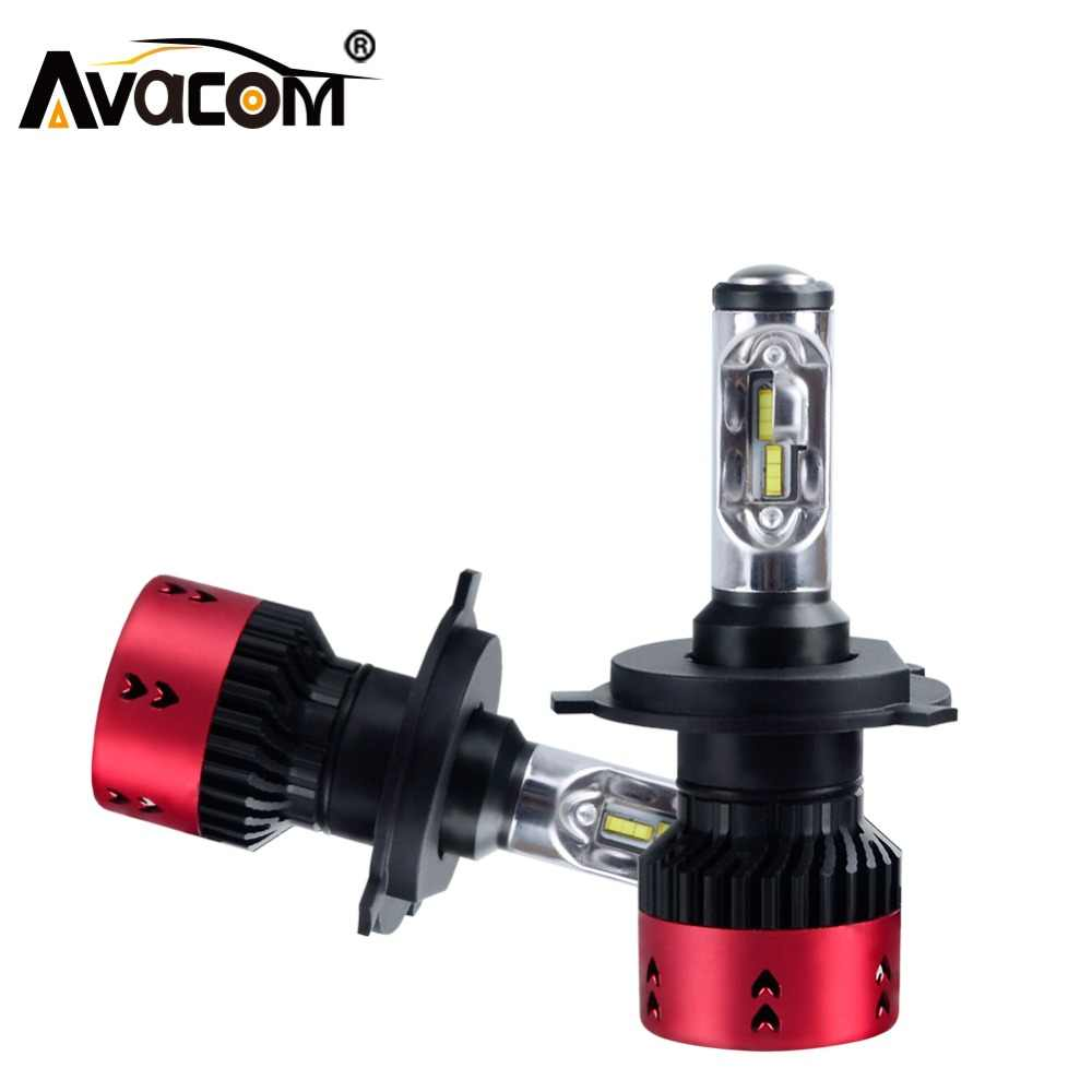 LED 12V H7 Car Light H1 LED Bulb H11 Car Headlight ZES H3 H8 H13 H15 HB3 HB4 9004 9007 70W 6500K 16000Lm 24V H4 Auto Headlamp
