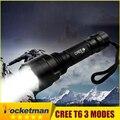 CREE T6 LED Охота Фонарик 5 Режим Мощный С8 Фонарик Факел Led Фонарик Cree свет фонарик Водонепроницаемый Для Туризм Отдых