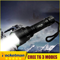 CREE T6 LED Hunting Flashlight 5Mode Powerful C8 Flashlight Torch Led Torch Cree light lantern Waterproof For Hiking Camping