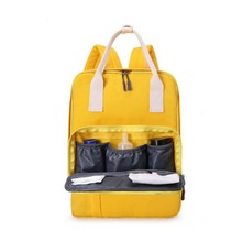 New bag fashion Mummy multi-function backpack waterproof maternal ladies baby out care package travel