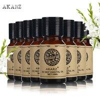 AKARZ value meals pine needle Rosemary Cypress Clove Litsea Cubeba Peach Blossom Mandarin Juniper Berry essential oil 10ml*8
