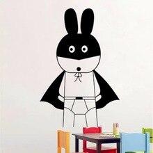 DIYWS Batman Cartoon Decorative Wall Art Mural Kids Sticker Baby Nursery Playroom Decor Wallpaper Home