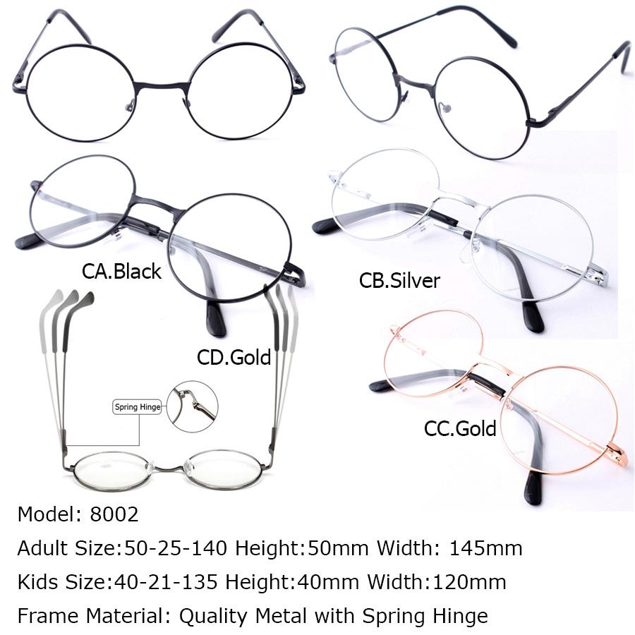 Attire Round Outfit Round Frame Prescription Eyewear