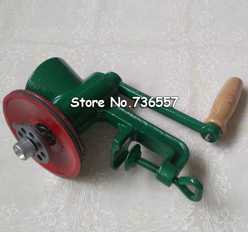 1pcs/lot Chili Soybean Grain Rice Mill Wheat Corn Flour Hand Crank Oats Flour Mill grinding miller Pulverizer 3# Fast Shipping multifunction corn flour mill machine home use manual maize rice soybean peanut coffee cocoa beans grain grinder