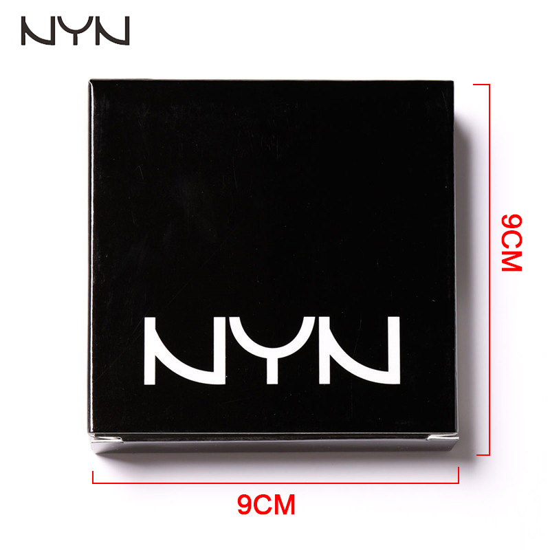 NYN Waterproof Eye makeup 6 Colors Diamond Pigment Makeup Eyeshadow Pallete to Eye Kit matte Eye Shadow Beauty Sombra9